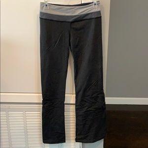 Reversible gray lululemon yoga pants